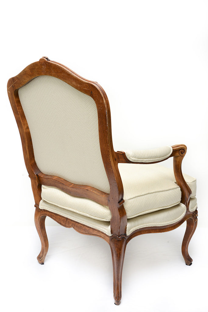 A Louis XV Style Fauteuil