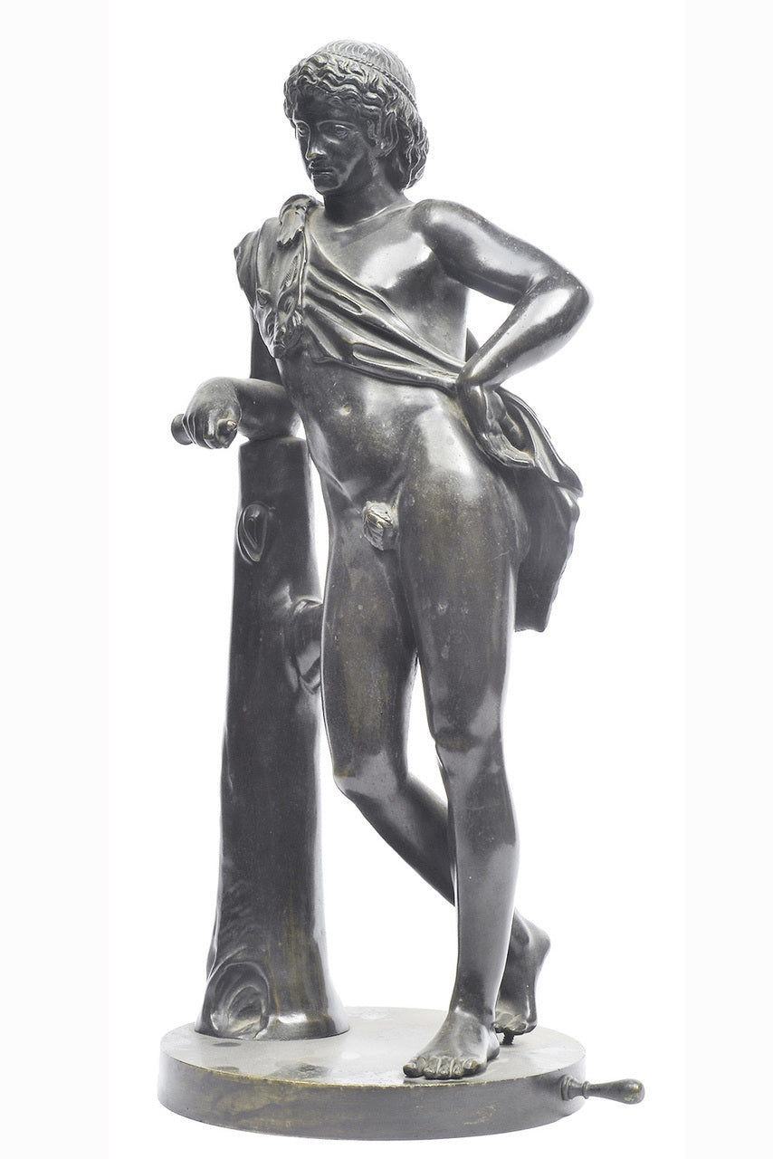 A Large Classical Style Bronze Figure, 19th Century