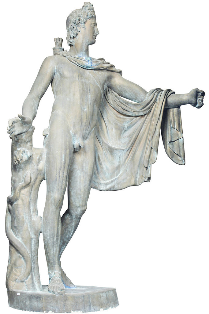 A Monumental Classical Style Composite Figure of an Archer