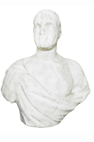 An Antique Marble Bust of a Man, Possibly Roman or Later