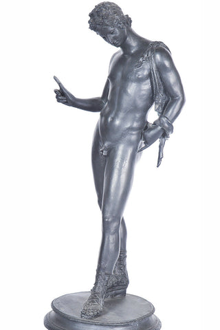 A Classical Style Composite Figure of a Male