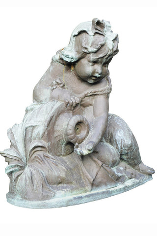 Girl with Urn Fountain