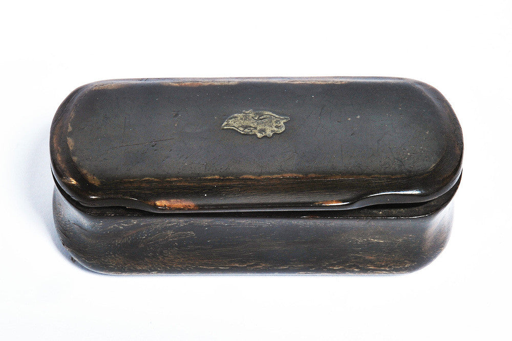 Three Horn Snuff Boxes, Early 19th Century