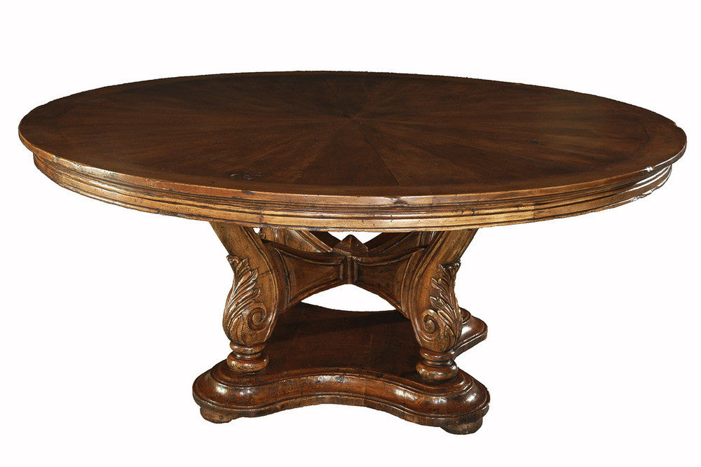 An Anglo-Indian Style Round Table