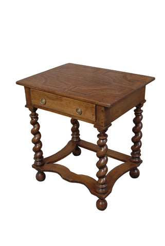A William and Mary Style Side Table