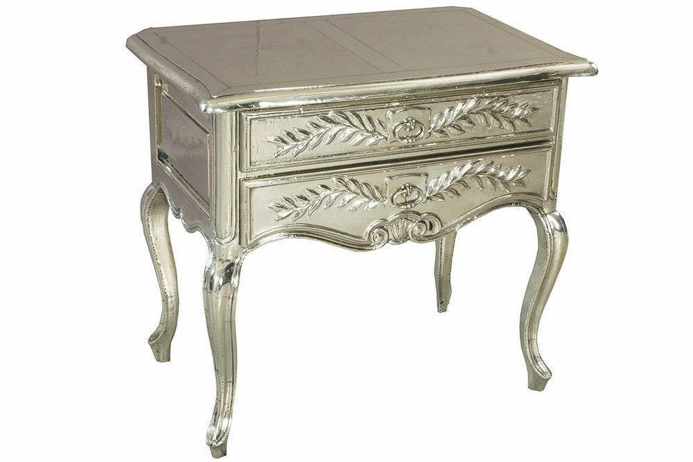 Louis XV Style Fern Motif Occasional Table