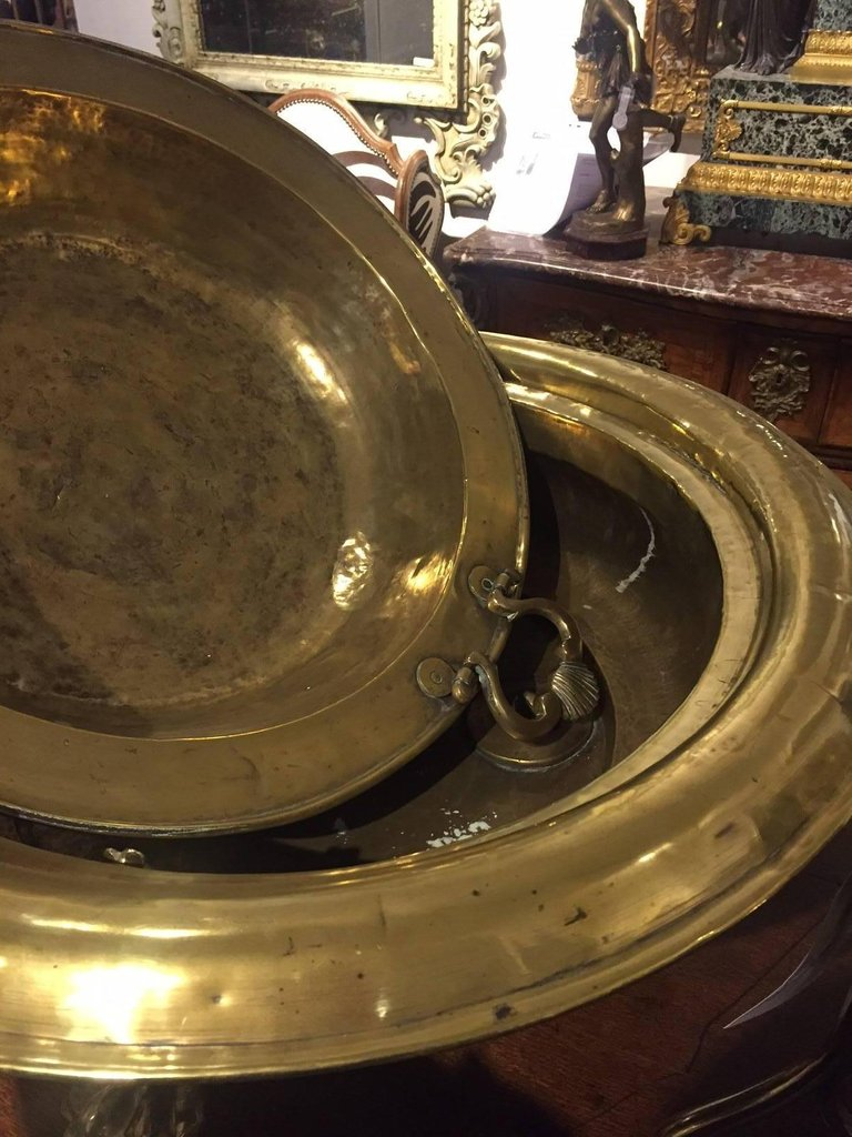A Substantial 19th Century Spanish Copper and Brass Brazier