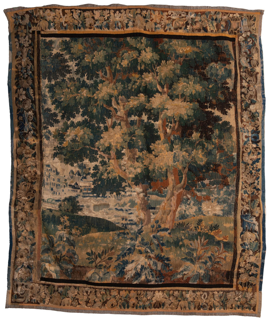 An Early 18th Century Flemish Verdure Tapestry