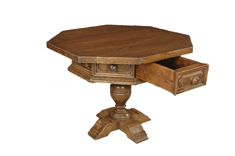 An Octagonal Library Table