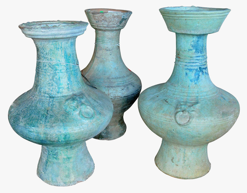 Three Chinese Han Period Vases