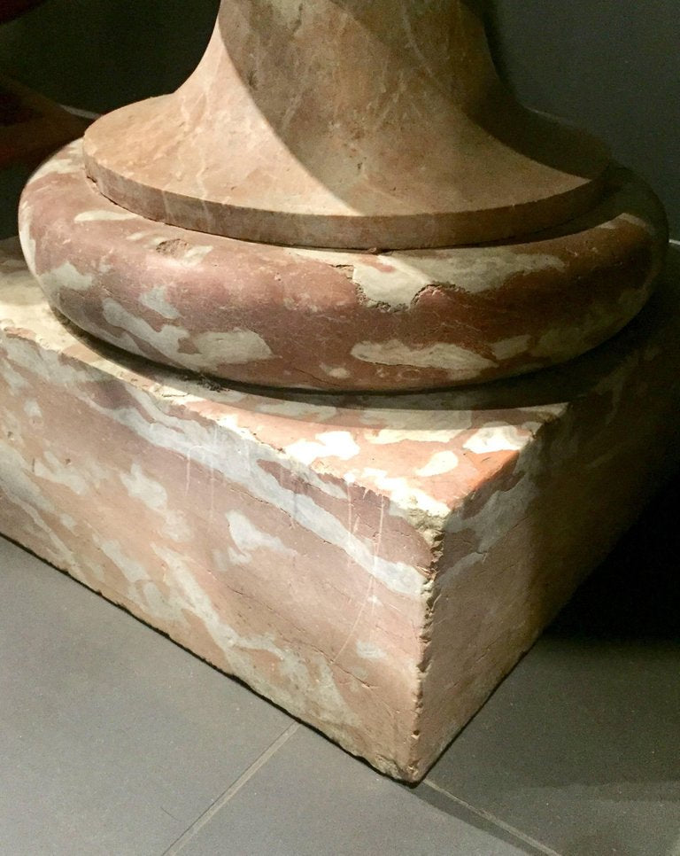 A French 17th Century Breche Marble Font