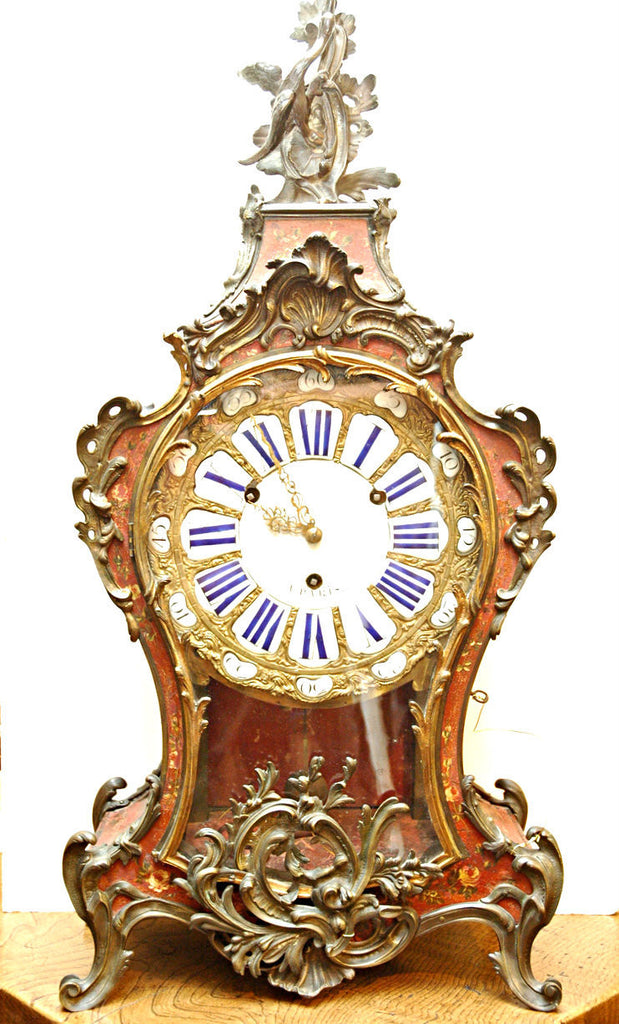 A Louis XV Bracket Clock