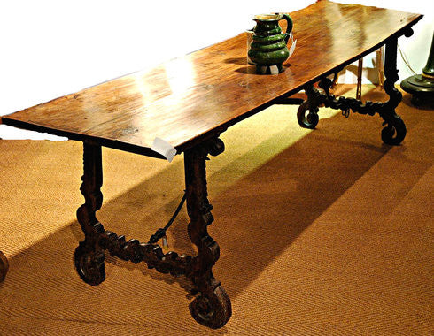 A Spanish Carlos II Dining Table