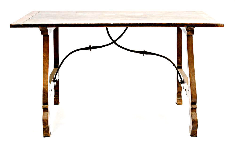 A Spanish Refectory Table 17th/18th Century.