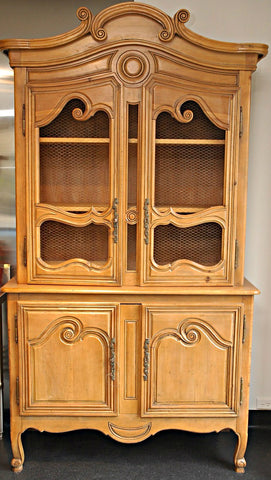 A French Provincial Buffet a Deux Corps