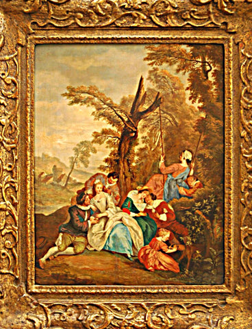 A Pair of 18th Century French Paintings