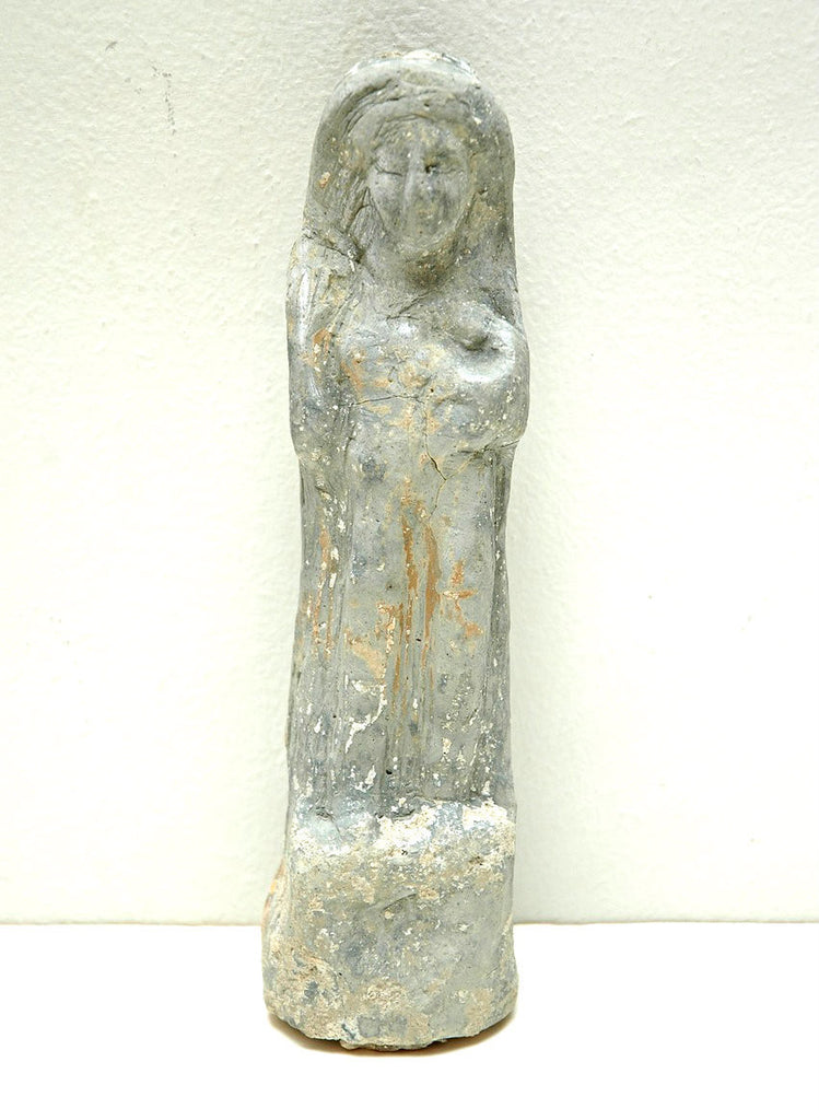 A Boeotian Terracotta Hollow Female Figure, circa 6th Century B.C