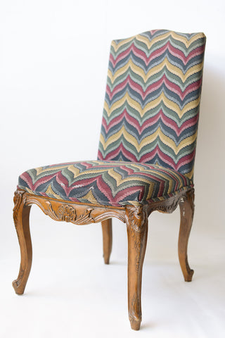 Carved Regence Style Dining Chairs