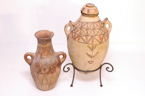 Moroccan Pots on Stands