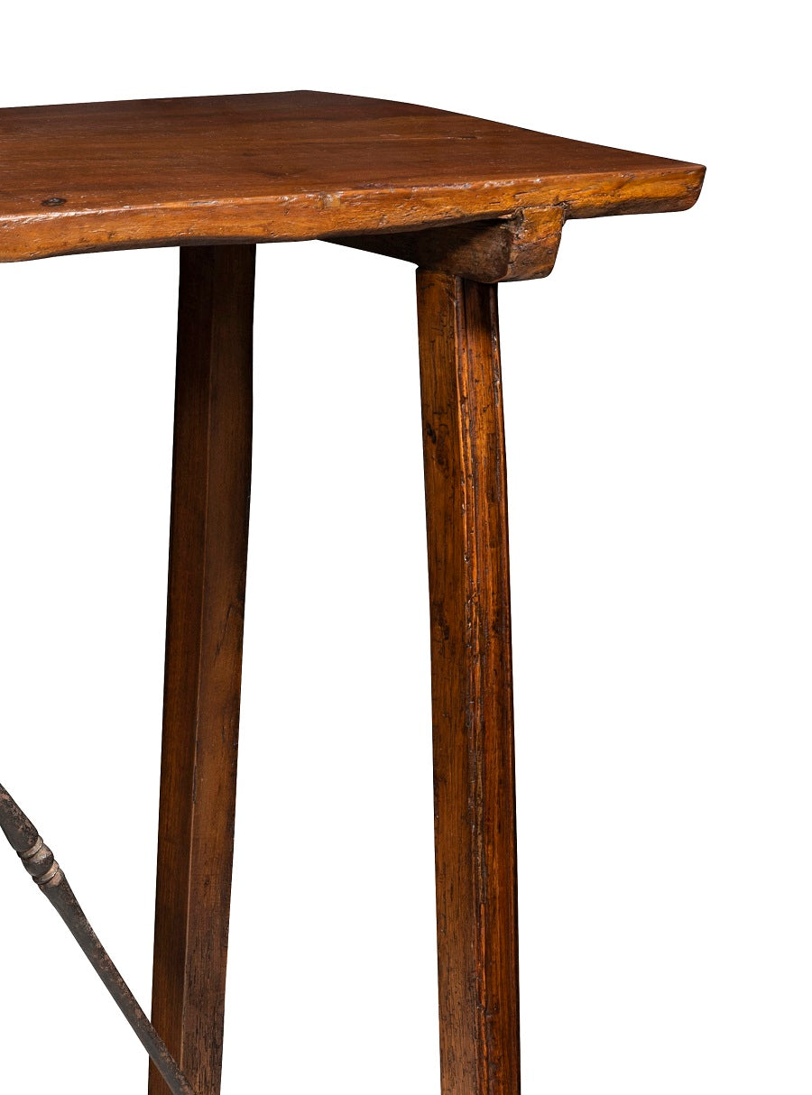 19th Century Spanish Walnut Console, in the 17th Century Style