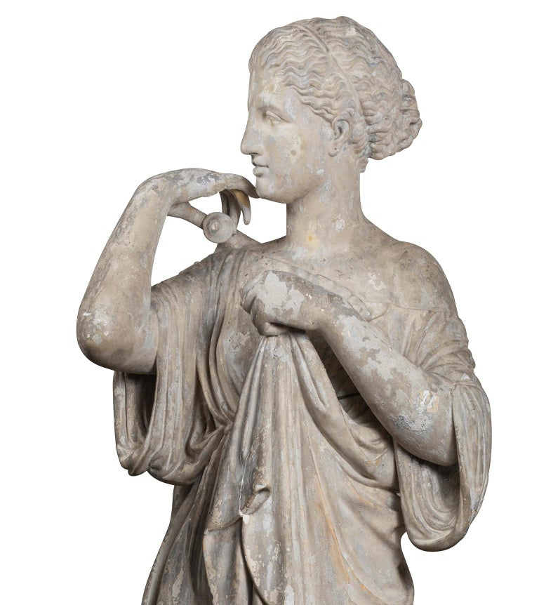 Early 19th Century Plaster Cast of the Diana De Gabies