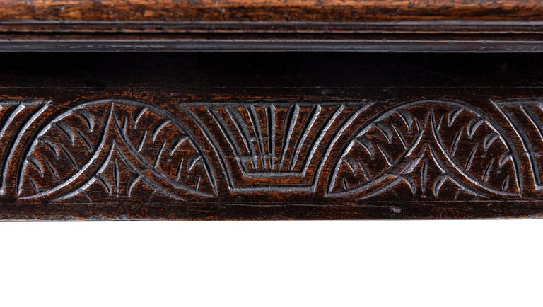 A 17th Century Cromwellian English Oak Refectory Table