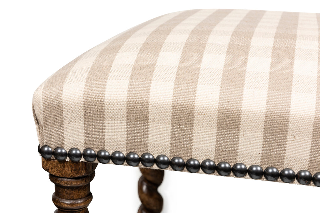 A Charles II Style Ottoman