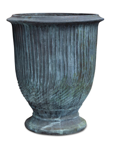 Striated Anduze Pot