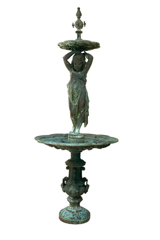 P.F. Fountain in Bronze