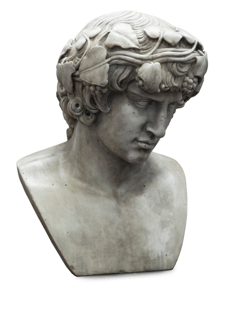 Stone Composite Bust of Antinous