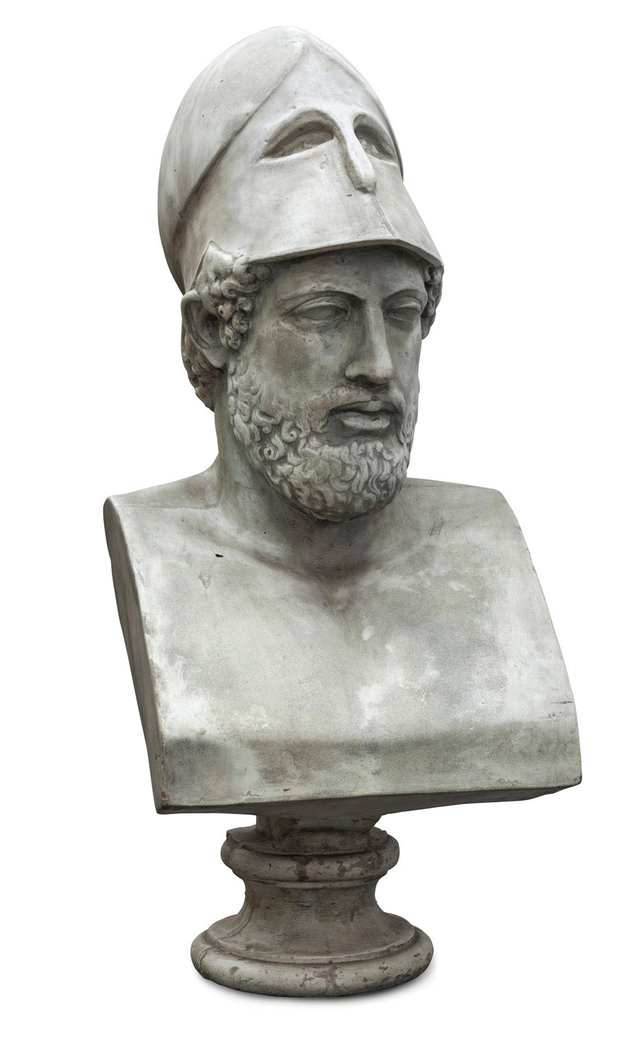 Stone Composite Bust of Pericles
