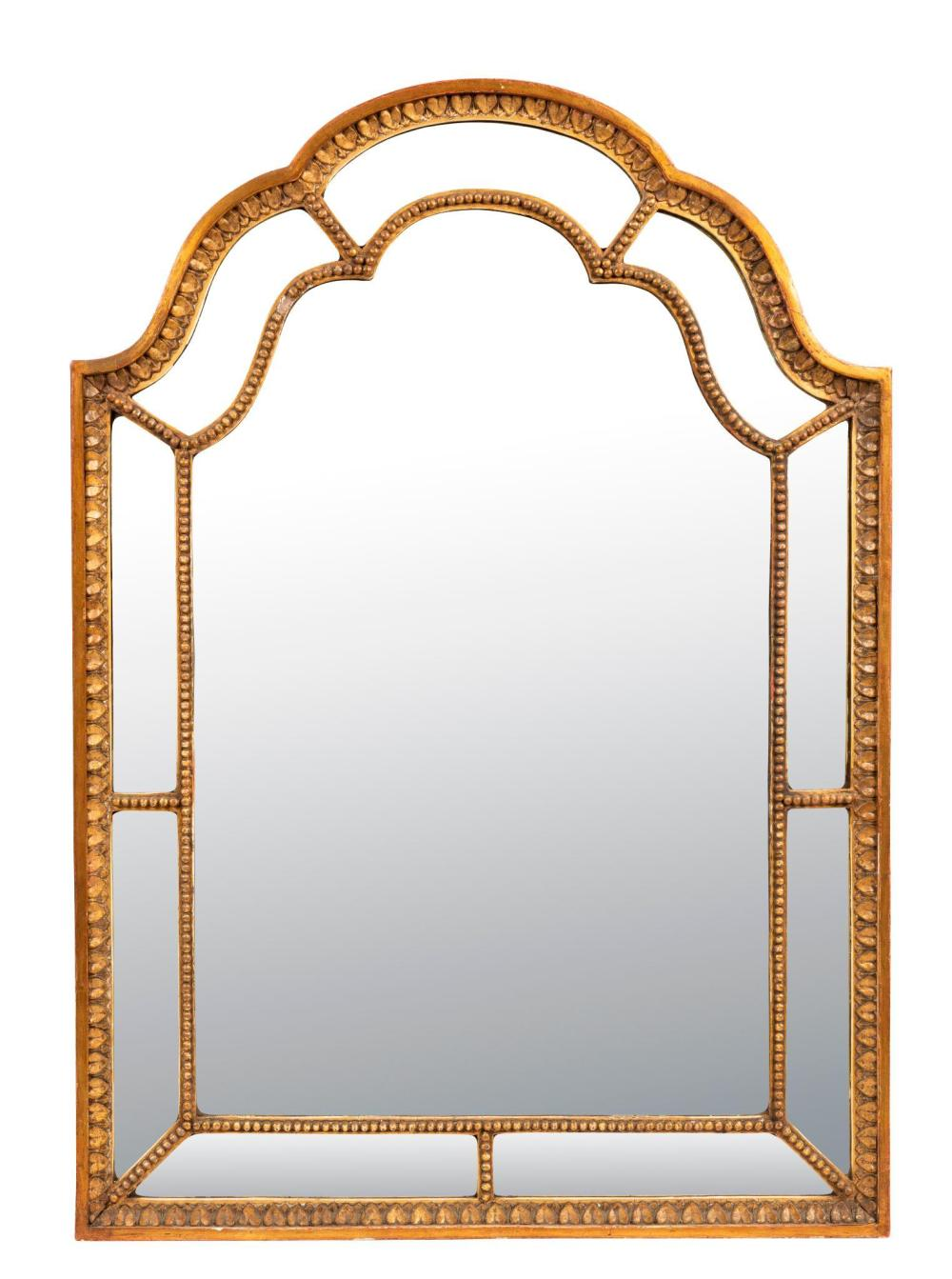 A Pair of George III Style Giltwood Mirrors