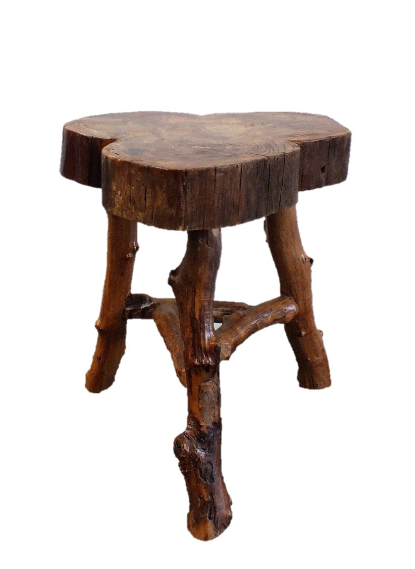 A Timber Trunk Stool
