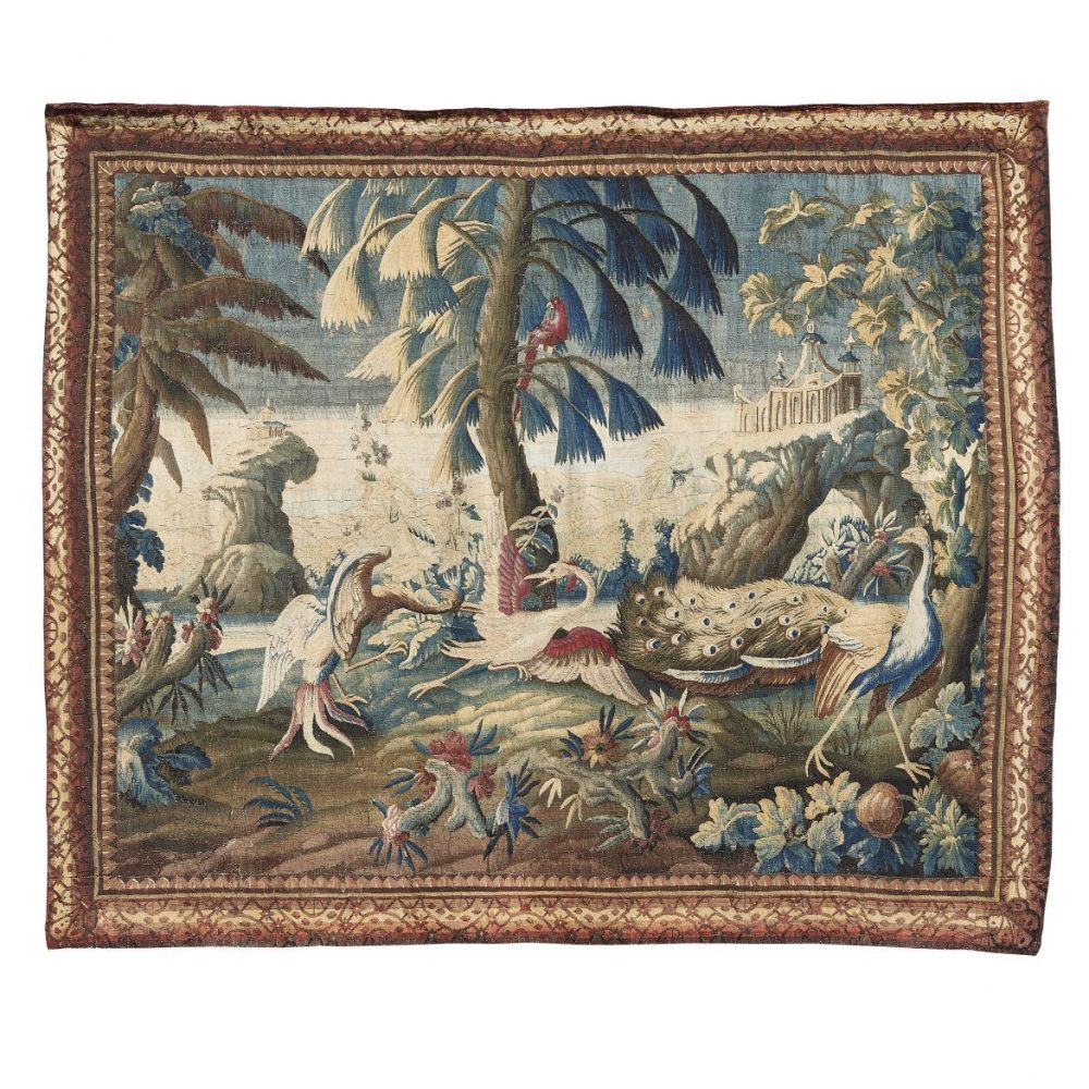 An 18th Century French Aubusson Tapestry