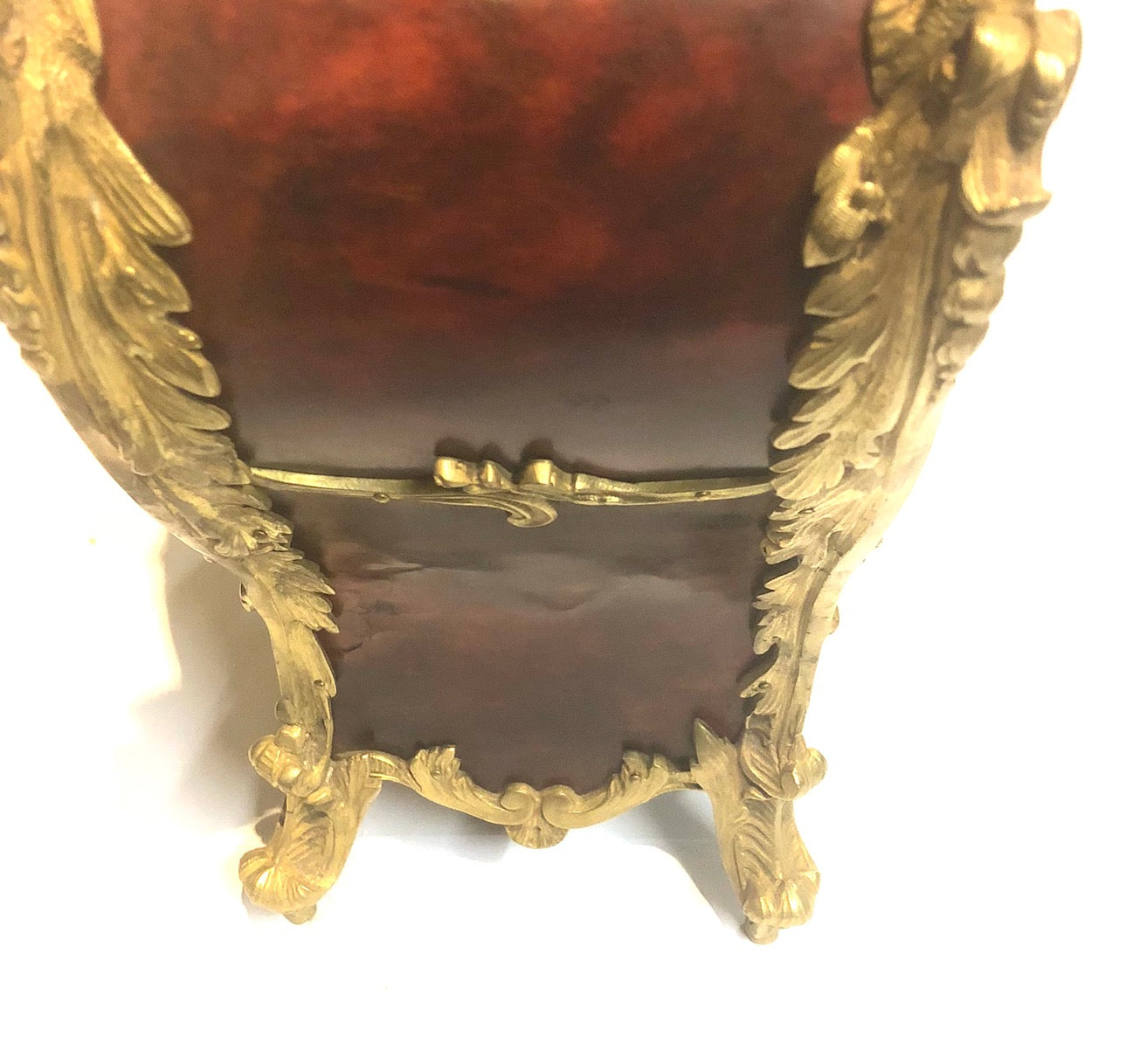 A French 19th Century Louis XV Style Ormolu Mounted Bracket Clock