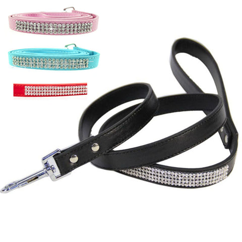Rhinestone Leash