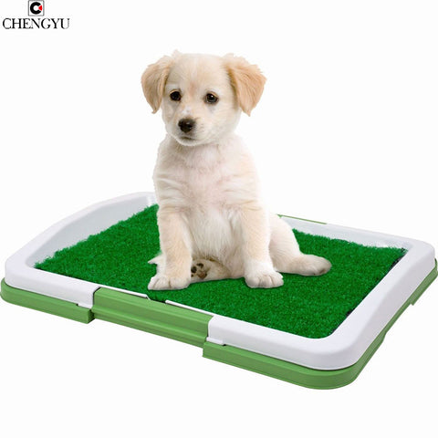 Puppy Potty Grass Mat Dog Trainer Indoor Grass Training Patch Pee Pad Training Patch Green Vision As Seen On TV