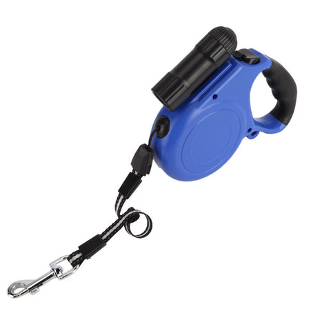 Heavy Duty Retractable Dog Leash with LED Light