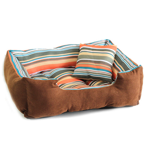 Trendy Dog Bed with matching Pillow