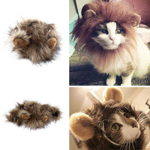 Lion Mane Costume for Cats and Small Dogs
