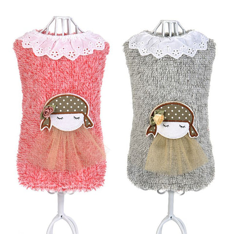 Dolly Knitwear Sweater with Lace