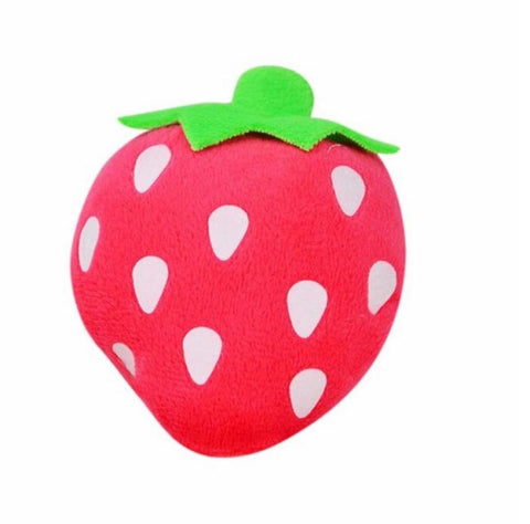Strawberry Squeaky Toy