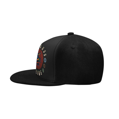 'Tribe Badge' black Snapback hat by Tony