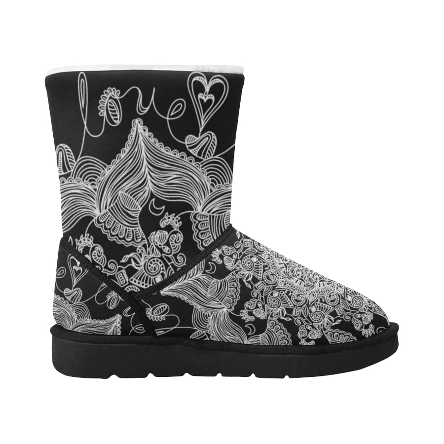 *Featured Gear* 'LoveBrushed' Women's Snow Boots by Holly Lindin