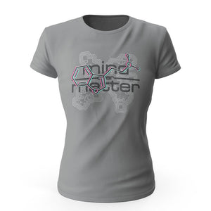 Nick's DMT Over Mind Over Matter Ladies' Short Sleeve Tee