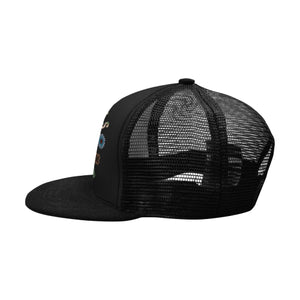 'Tribe Badge' black Hip Hop cap by Tony