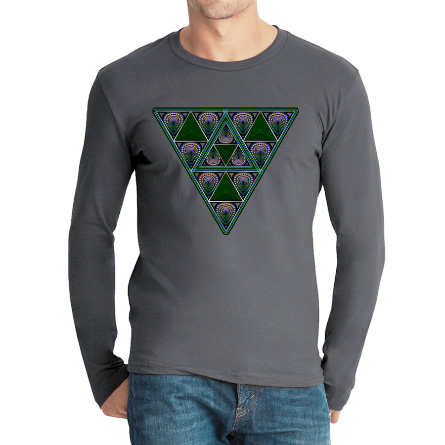Nick's FearLess Triangle Down Long Sleeve Heavy Metal
