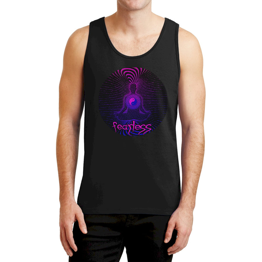 Ron's Prana Tube Mens Tank Top Black