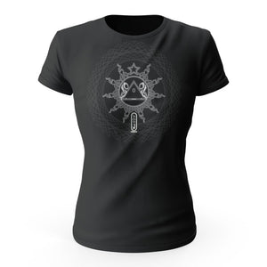 A.I. lock out sigil dark color Women's tee