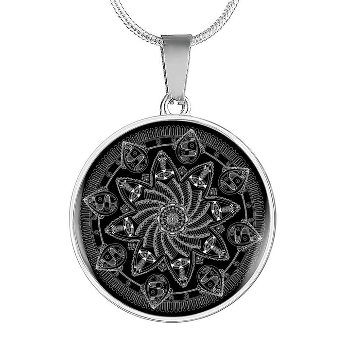 """Dreamspun"" Luxury Mandala Necklace by Holly Lindin"